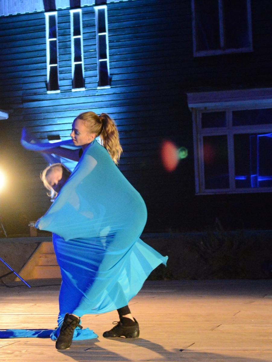 Blauwe Vlinder foto dans - Jethro Bijleveld