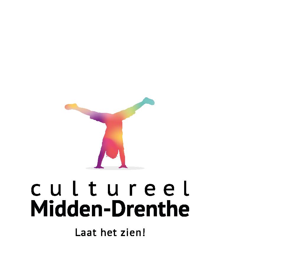 Dit is het logo van Cultureel Midden-Drenthe