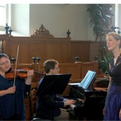 "Optreden Ensemble ""Les Amoureux"" en Elena Meyer"