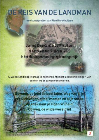 Dit is een poster van het evenement De Reis Van De Landman