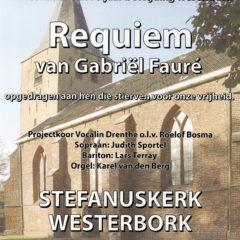 VOORLOPIG UITGESTELD: Requiem van Gabriël Fauré (in het kader van 75 jaar bevrijding Westerbork)